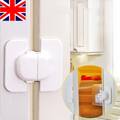 Refrigerator Fridge Freezer Door Lock Latch Toddler Kids Children Safety UK