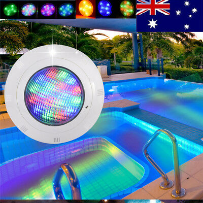 AU! 12V 36W 19 LED 7 Color Swimming Pool RGB Light Underwater Waterproof+ Remote