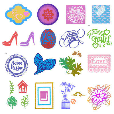 Metal DIY Cutting Dies Stencil Scrapbook Album Paper Card Hand Craft Decor Gift