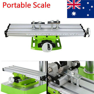 Mini Milling Machine Bench Drill Vise Worktable Coordinate Table For Mini Lathe