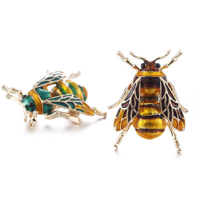 Women Fashion Jewelry Cute Bee Fly Insect Brooches Corsage Alloy Brooch Pin Gift