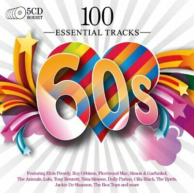 Various - 100 Essential 60's - Various CD IKVG The Cheap Fast Free Post The
