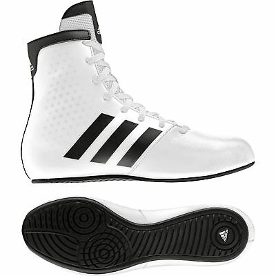 Adidas KO Legend 16.2 K Boxing Boots Kids Childrens White Shoes Trainers Size 3