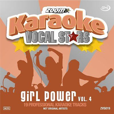 Zoom Karaoke Vocal Stars Series Volume 19 CD+G - Girl Power (Vol.4)