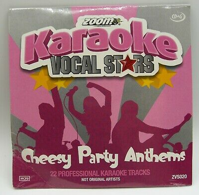 Zoom Karaoke Vocal Stars Series Volume 20 CD+G - Cheesy Party Anthems