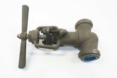 New Hancock 7130W-1-0218 Steel Socket Weld 2In 1690 Globe Valve D592426