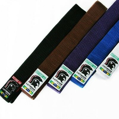 Lutador BJJ Belt Brazilian Jiu Jitsu A1 A4 Purple Brown