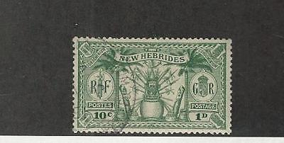 New Hebrides - British, Postage Stamp, #42 Used, 1925