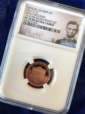 2017-S 1C NGC PR70 UCAM Shield Lincoln 1c-- Early Release **LOWEST PRICE!!**
