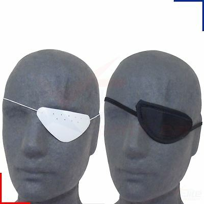 Medical Eye Patch Fabric or Plastic Eyeshade Therapy Protection
