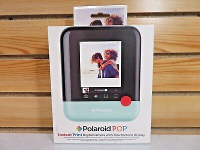 Polaroid POP Instant Print Digital Camera - Touchscreen Display New Sealed green
