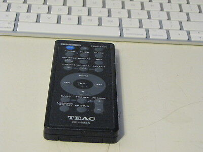 TEAC RC-1223A Audio System Remote Tested Works