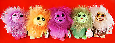 Ty Beanie Boos Frizzys Zwippy Tang Scoops Lola Zinger 8,5cm Glubschis Anhänger!