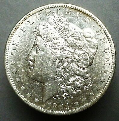 1884-S  Morgan Silver Dollar Pleasing Au