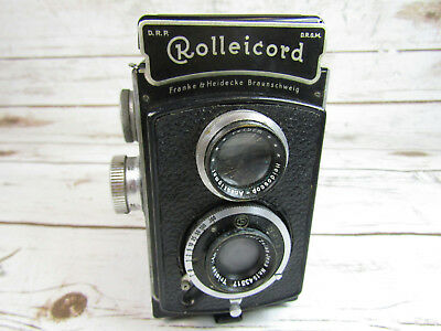 Rolleicord Model 3 TLR Camera Tested Zeiss Triotar 4.5 Lens Parts & Repair