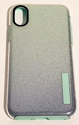 timeless design aff23 5b478 INCIPIO DUALPRO SERIES Case for iPhone X & iPhone XS (10) - Mint Sparkles