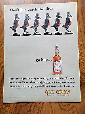 1964 Old Crow Whiskey Ad 1964 ford Econoline Van Ad 1 Choice by 2 to 1