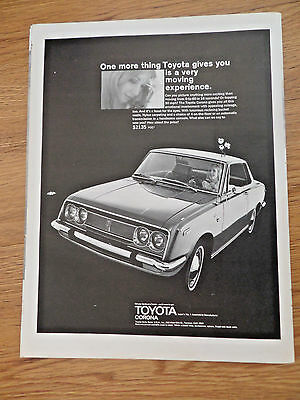 1969 Toyota Corona Ad  Gives a Very Moving Experience