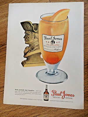 1948 Paul Jones Whiskey Ad