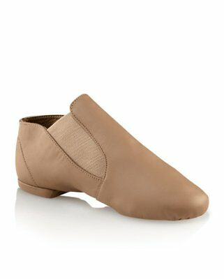 Capezio CG05 Adult Size 5M Fits Size 3 Suntan Slip On Jazz Boot USA Design