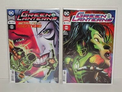 Green Lanterns #38 A and B Variant Set - 1st App Red Tide (NM or 9.4) Sold Out!