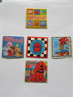 Clifford The Big Red Dog Puppy Days  Stickers Free Magnets