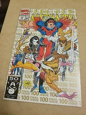 the New Mutants #100 (1991) NM- HIGH GRADE 1ST APP X-FORCE KEY APPEARANCE 2ND PR