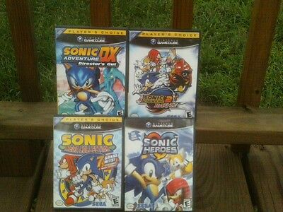 Sonic HEROES, Adventure 2 Battle,DX, (Nintendo GameCube, 2002)COMPLETE