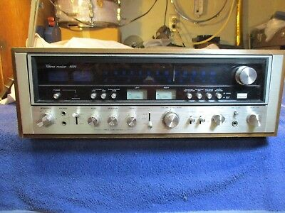 SANSUI 9090 AM/FM STEREO RECEIVER AS/IS for Parts and Repair Not Working not DB