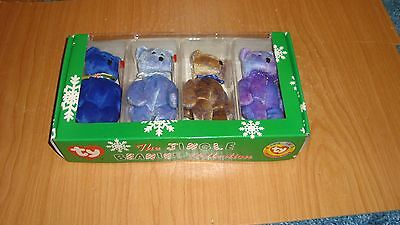 TY   The Jingle Beanies Collection -Clubby Edition---mint cond -oriig. box 1999