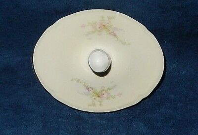 Vintage Edwin Knowles ~ Semi-Vitreous ~ Kno84 Floral ~ Sugar Bowl Lid Only