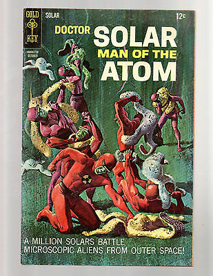Doctor Solar Man Of The Atom #21 Gold Key FN