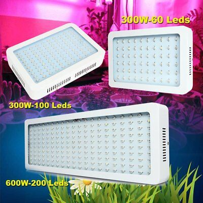 Beamnova 300W 600W LED Grow Light Lamp Indoor Hydro Bloom Plant Full Spectrum