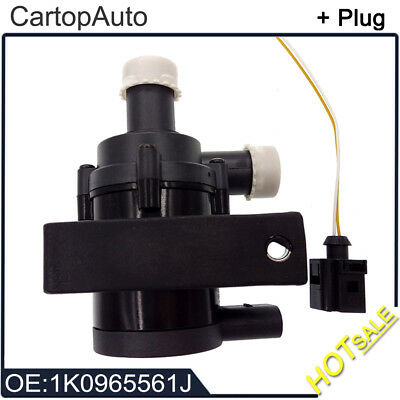 Engine Cars Circulating Cooling Water Pump + Plug FOR VW 1.8T 2.0T 12V