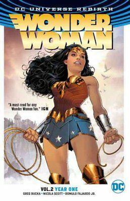 Wonder Woman TP Vol 2 Year One (Rebirth) by Greg Rucka 9781401268800