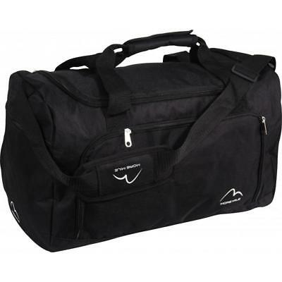 More Mile Small Training Gym Fitness Sports Holdall - Black