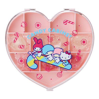 Sanrio Characters Heart Shaped Cased Candy (CANDY CABINET)