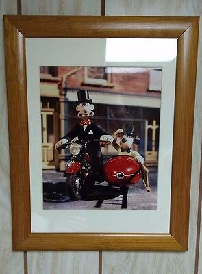 """Wallace and Gromit """"Top Hat and Tails"""" Aardman Limited Edition Print 47/100"""