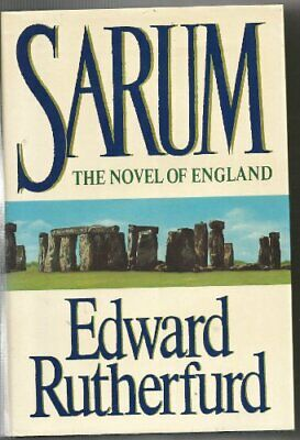 Sarum: The Novel of England by Rutherfurd, Edward Book The Cheap Fast Free Post