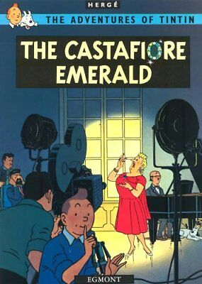 The Castafiore Emerald (The Adventures of Tintin) by Herge Paperback Book The