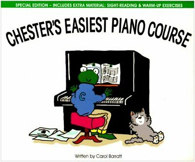 Chester's Easiest Piano Course: Bk. 2 by Barratt, Carol Sheet music Book The