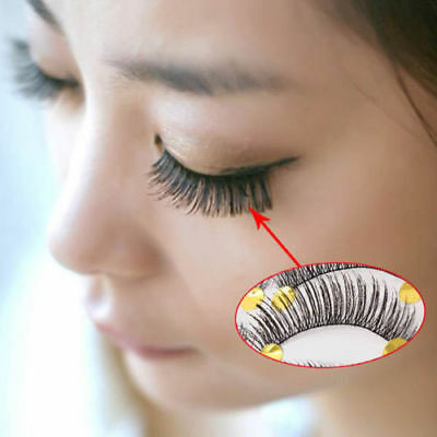 10 Pairs Long Thick Eye Lashes Hand Made Natural False Eyelashes Soft Makeup