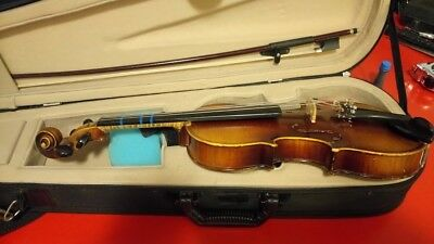 copy ANTONIUS STRADIVARIUS **Faciebat Cremona 1713** Made in Germany 1/2 Violin