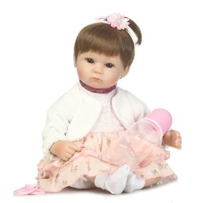 "Looking So Real As Actual Baby That Clearly Hand Painted 16"" reborn Newborn doll"