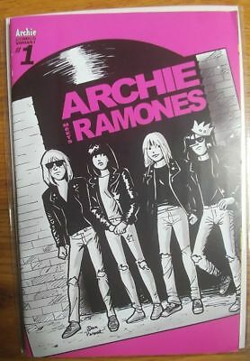 Archie Meets The Ramones, Archie Comics One Shot, Variant Cover D, VF/NM