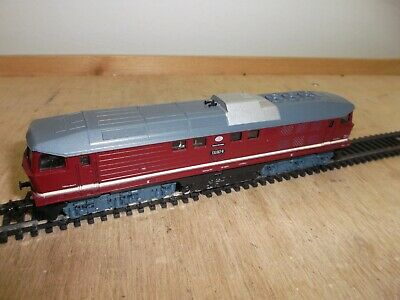 Zeuke Berlin BTTB Train Diesel Locomotive Ludmilla BR 130 007 - 8 The Dr Tested