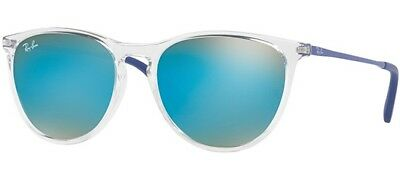 Ray Ban 9060S 9060/s 50 Junior 7029B7 Sunglasses Clear Trasparente Bambini Baby