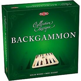 Backgammon Wooden Classic Game