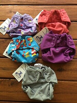 NEW! Kanga Care Rumparooz Newborn Baby Cloth Diaper Covers Snap HTF Prints!