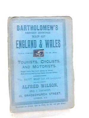 Bartholomew's Reduced Ordnance Map of England & Wales S (Anon - 1111) (ID:77705)